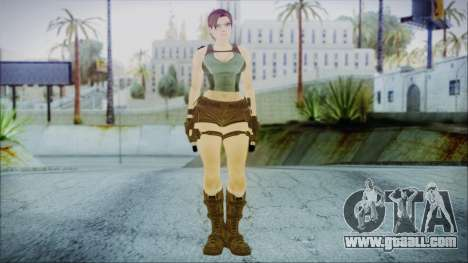 Lara v1 for GTA San Andreas second screenshot