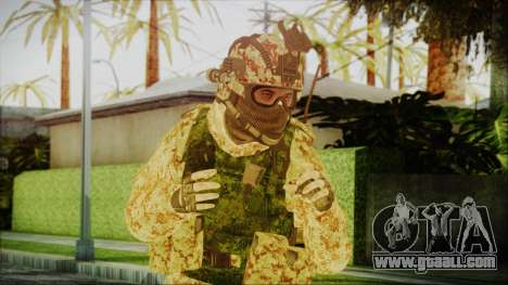 MW2 Russian Airborne Troop Desert Camo v3 for GTA San Andreas