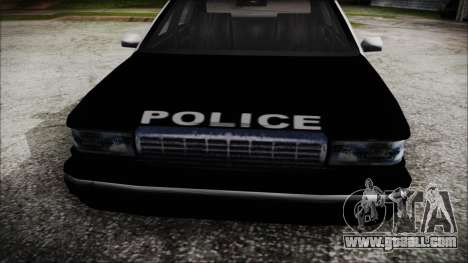 Beta SFPD Cruiser for GTA San Andreas right view
