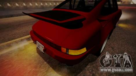 RUF RUF RUF Ctr yellowbird (911) 1987 АПП IVF for GTA San Andreas bottom view