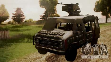 BF3 Rhino for GTA San Andreas right view