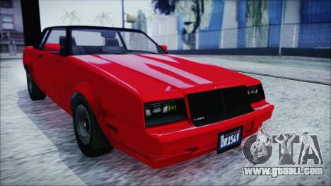 GTA 5 Willard Faction IVF for GTA San Andreas