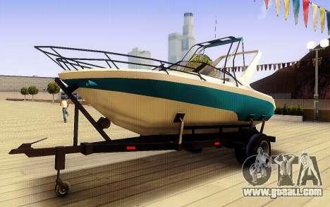 GTA V Boat Trailer for GTA San Andreas
