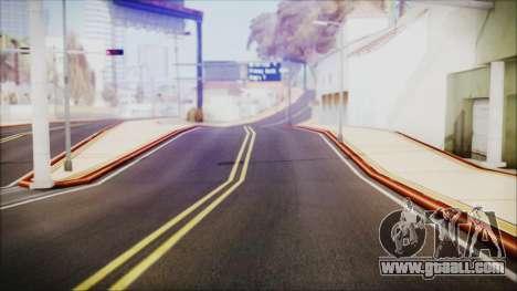 HD All City Roads for GTA San Andreas second screenshot