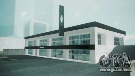 BMW Showroom for GTA San Andreas second screenshot