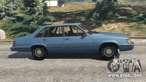 Ford LTD LX 1985 for GTA 5