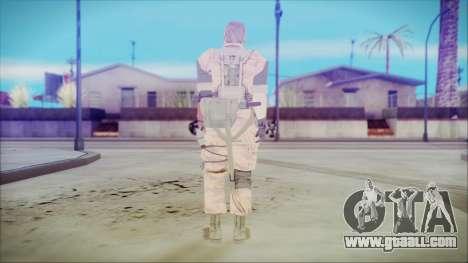 MGSV Phantom Pain Snake Normal Golden Tiger for GTA San Andreas third screenshot