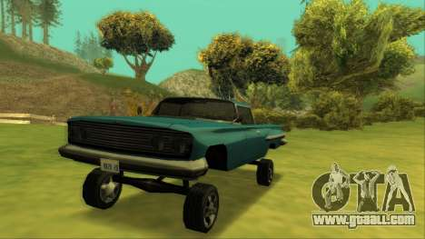 Voodoo El Camino v1 for GTA San Andreas interior