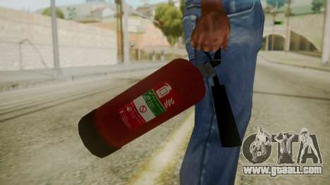 GTA 5 Fire Extinguisher for GTA San Andreas