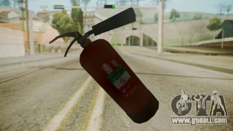 GTA 5 Fire Extinguisher for GTA San Andreas third screenshot
