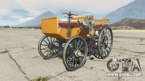 Daimler 1886 [colors] for GTA 5
