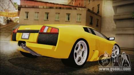Lamborghini Murcielago 2005 Yuno Gasai IVF for GTA San Andreas left view