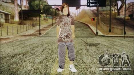 Home Girl Chola 3 for GTA San Andreas second screenshot