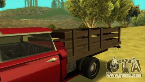 Voodoo El Camino v2 (Truck) for GTA San Andreas side view