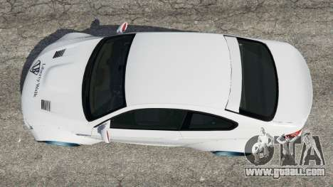 GTA 5 BMW M3 (E92) [LibertyWalk] v1.1 back view