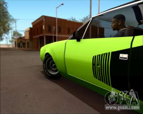 Clover Barracuda for GTA San Andreas right view