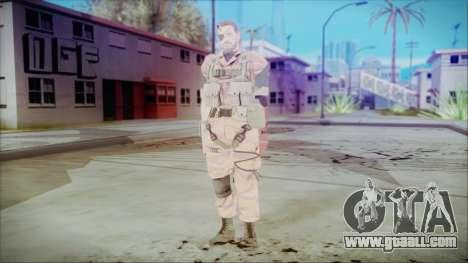 MGSV Phantom Pain Snake Normal Golden Tiger for GTA San Andreas second screenshot