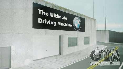 BMW Showroom for GTA San Andreas third screenshot