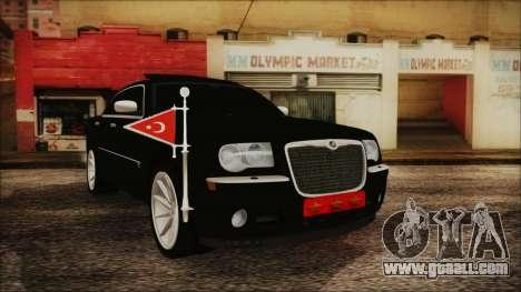 Chrysler 300С Unalturan for GTA San Andreas