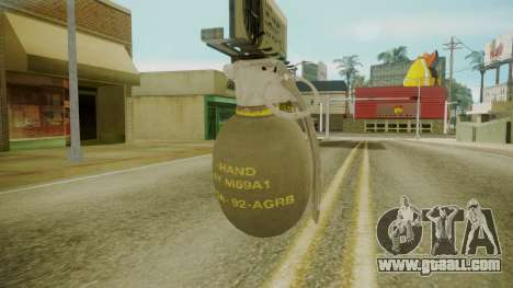 GTA 5 Grenade for GTA San Andreas second screenshot
