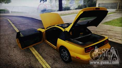 Nissan Fairlady Z Twinturbo 1993 for GTA San Andreas upper view