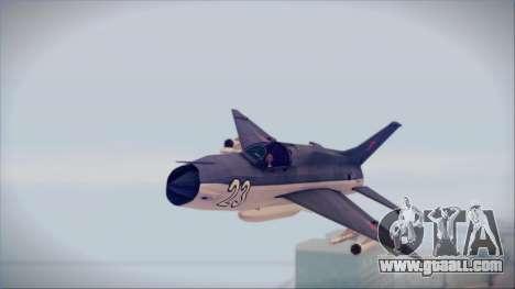 MIG-21MF URSS for GTA San Andreas