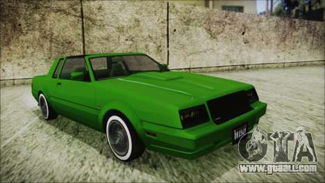 GTA 5 Willard Faction Custom for GTA San Andreas
