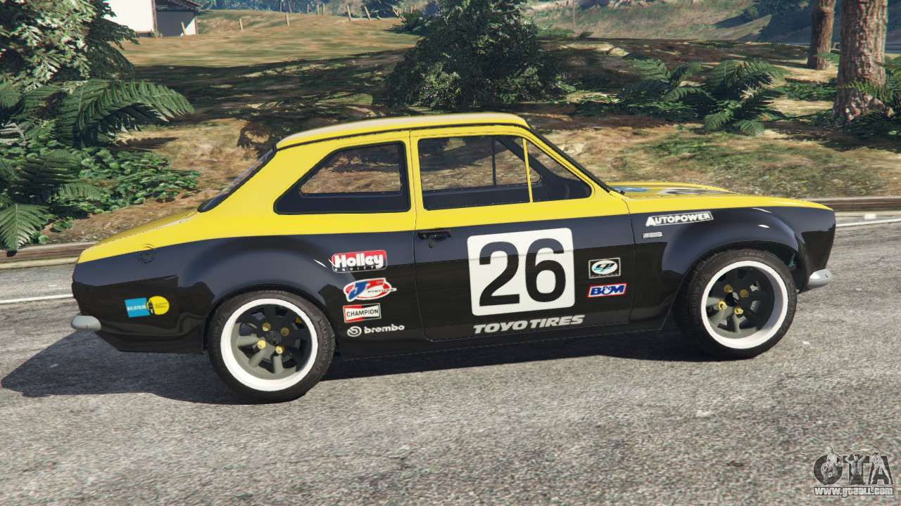 Ford Escort MK1 V11 26 For GTA 5
