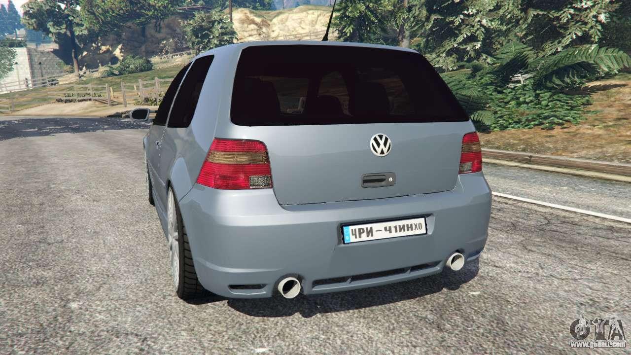 Volkswagen Golf Mk4 R32 for GTA 5