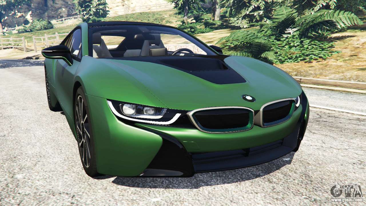 Bmw I8 2015 For Gta 5
