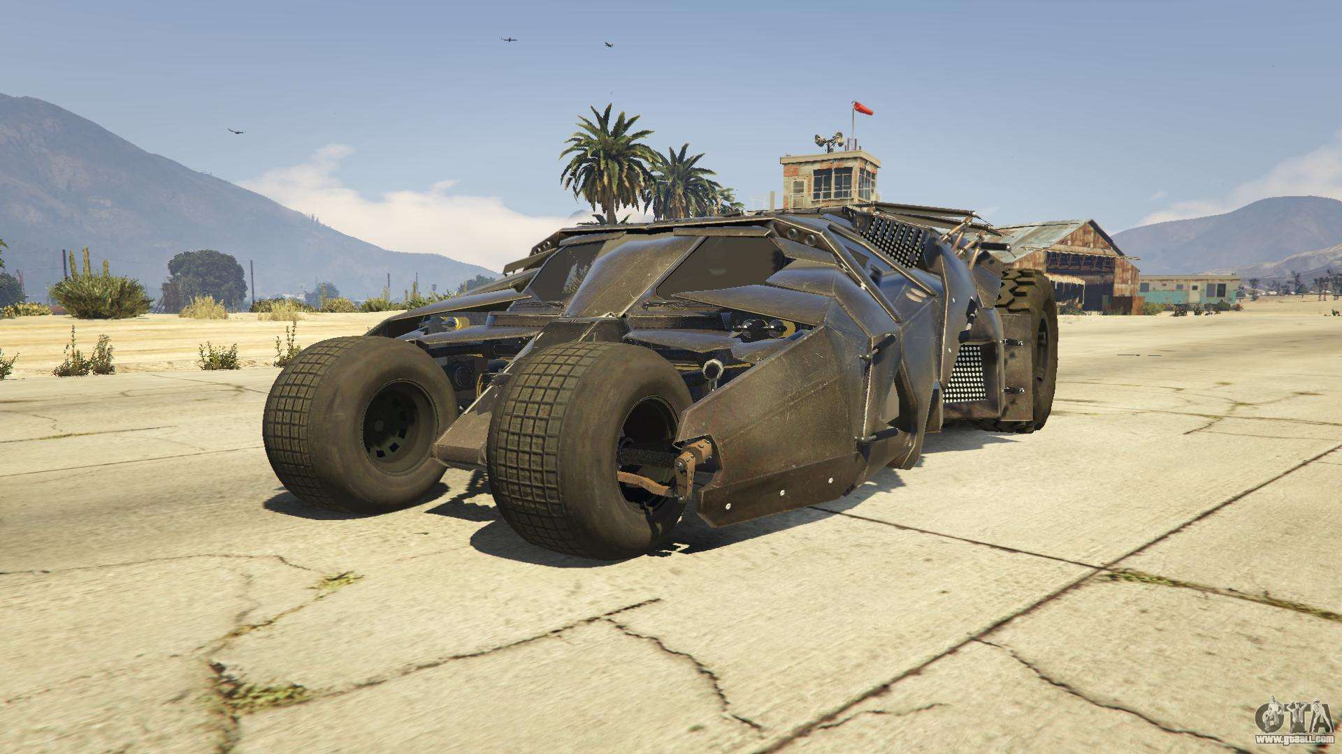 The Tumbler For Gta 5