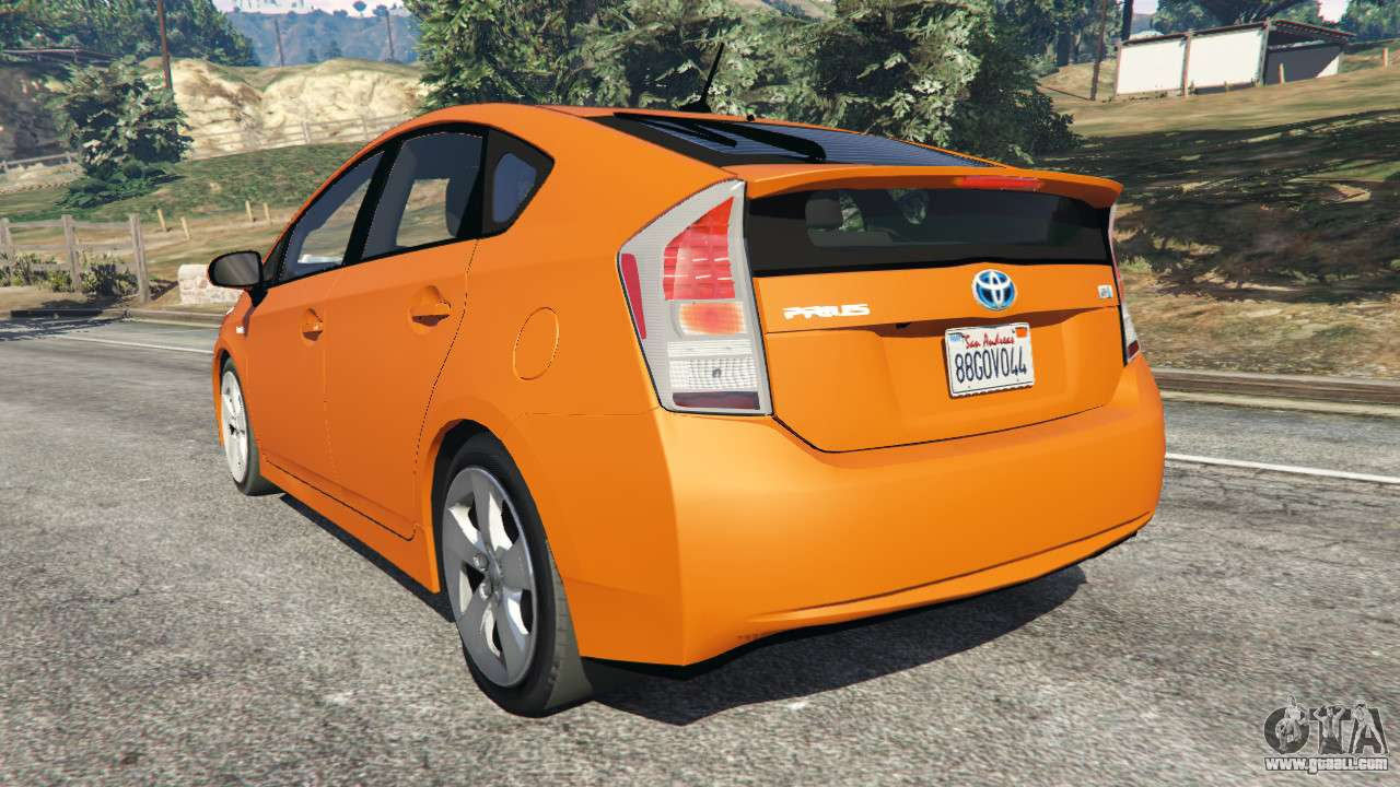 toyota prius v1 5 for gta 5. Black Bedroom Furniture Sets. Home Design Ideas