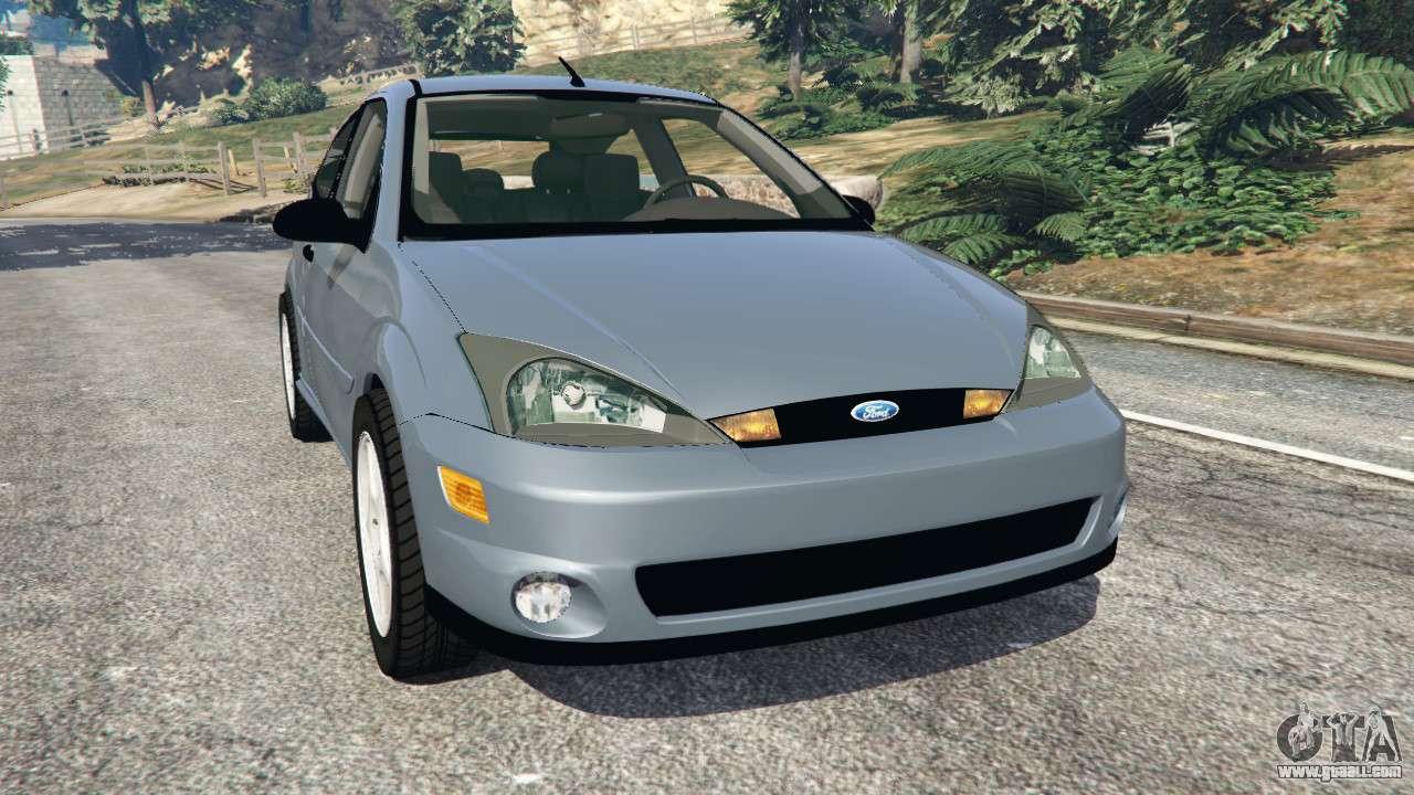 Ford Focus Awd >> Ford Focus SVT Mk1 for GTA 5