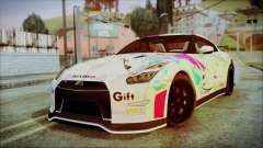 Nissan GT-R Nismo 2015 Itasha Paintjobs for GTA San Andreas