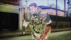 MGSV Phantom Pain Snake Normal Tiger
