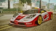 McLaren F1 GTR 1998 Lemans McLaren for GTA San Andreas