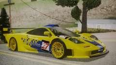 McLaren F1 GTR 1998 Parabolica