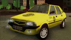 Dacia Solenza Taxi for GTA San Andreas