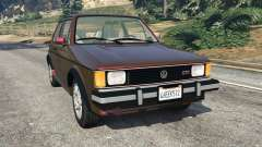 Volkswagen Rabbit 1986 v2.0 for GTA 5