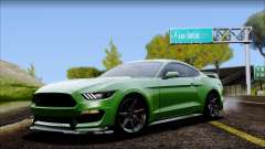 Ford Mustang Shelby GT350R 2016 No Stripe for GTA San Andreas