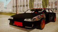 Sultan Full of Stickers for GTA San Andreas