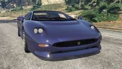 Jaguar XJ220 v0.9 for GTA 5