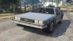 DeLorean DMC-12 Back To The Future v1.0 for GTA 5