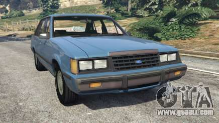 Ford LTD LX 1985 for GTA 5