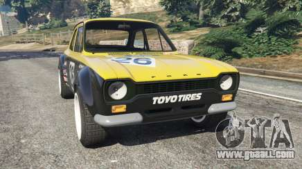 Ford Escort MK1 v1.1 [26] for GTA 5