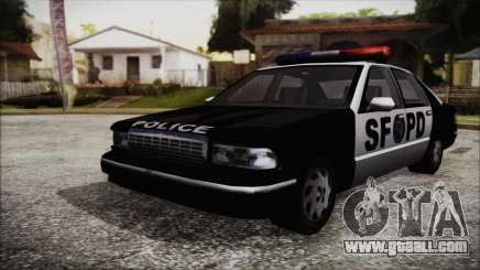 Beta SFPD Cruiser for GTA San Andreas