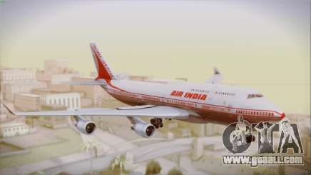 Boeing 747-437 Air India Tanjore New Skin for GTA San Andreas