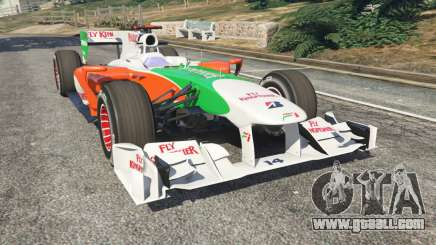 Force India VJM03 for GTA 5