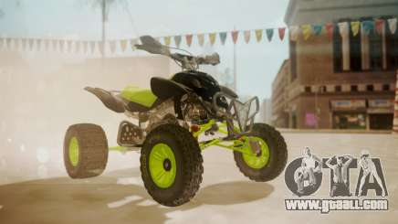 Honda TRX450 Quad for GTA San Andreas