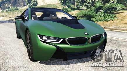 BMW i8 2015 for GTA 5